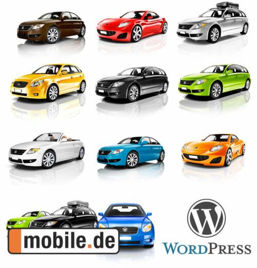 mobile.de API für WordPress (Plugin)